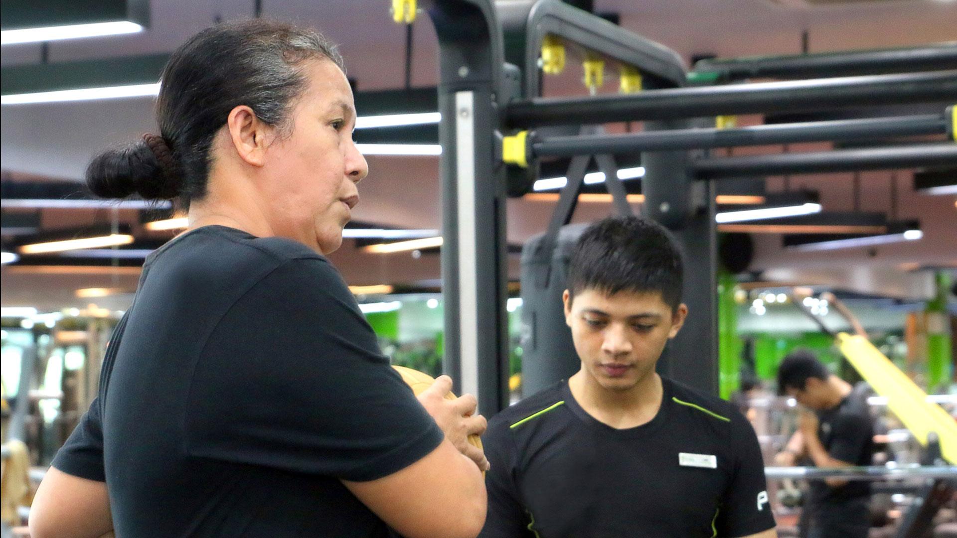 Chương trình luyện tập<br><span>phù hợp với người cao tuổi</span>