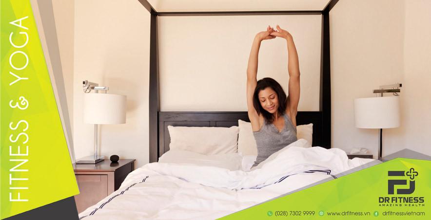 Những Bài Tập Nhẹ Nhàng Trên Giường Trước Khi Ngủ